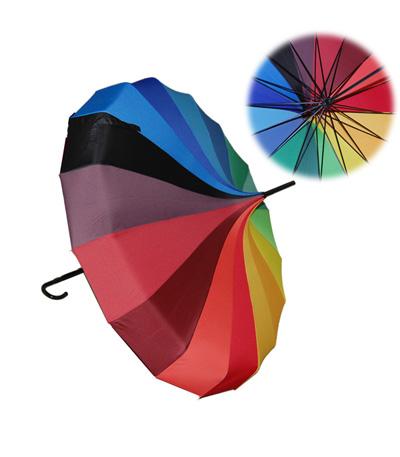 Pagoda Rainbow Umbrella Yagifts